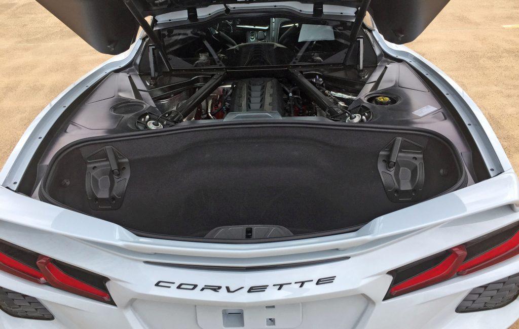 2020 Corvette trunk