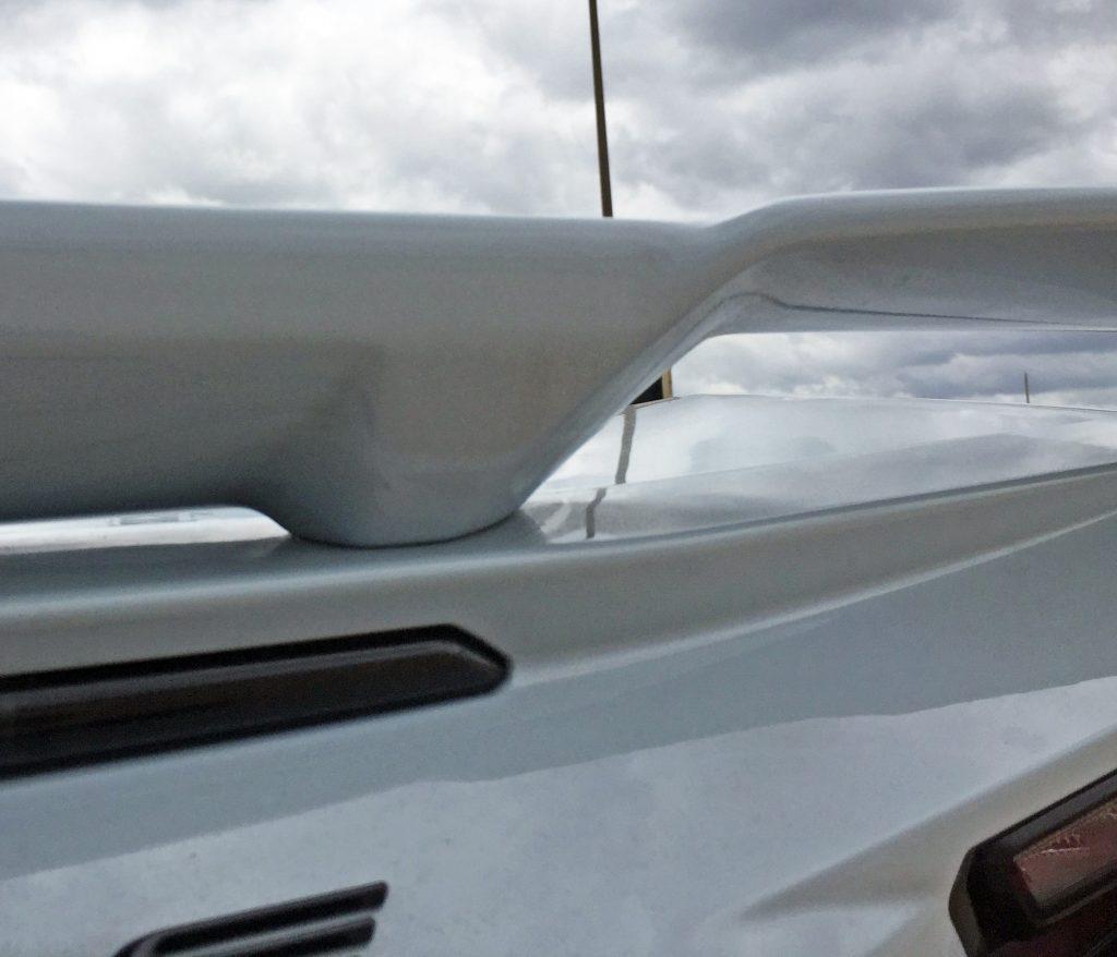 2020 Corvette rear spoiler Z51