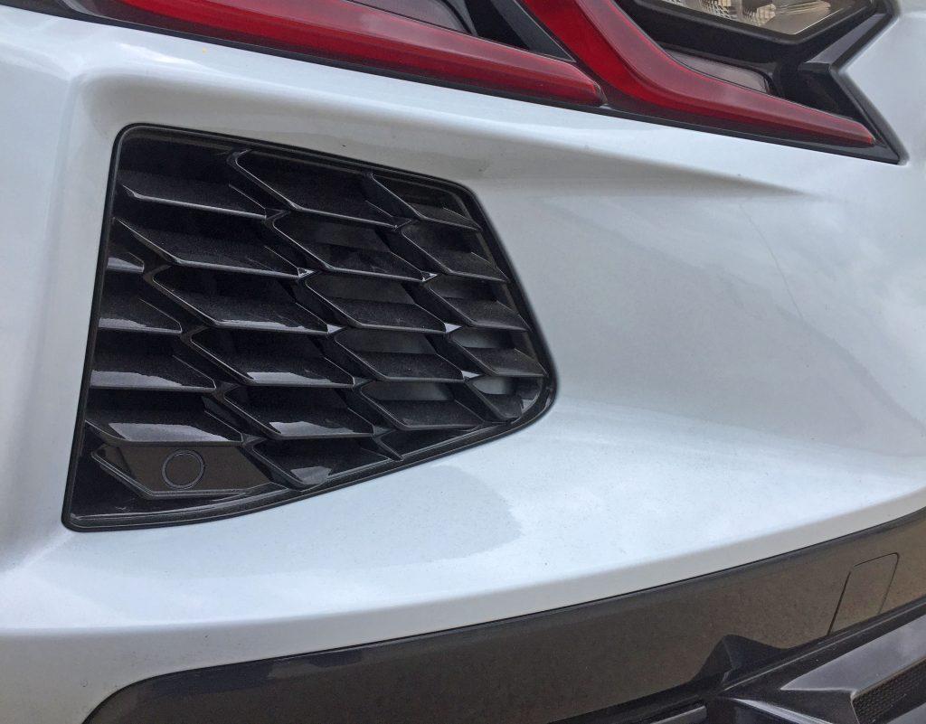 2020 Corvette rear bumper