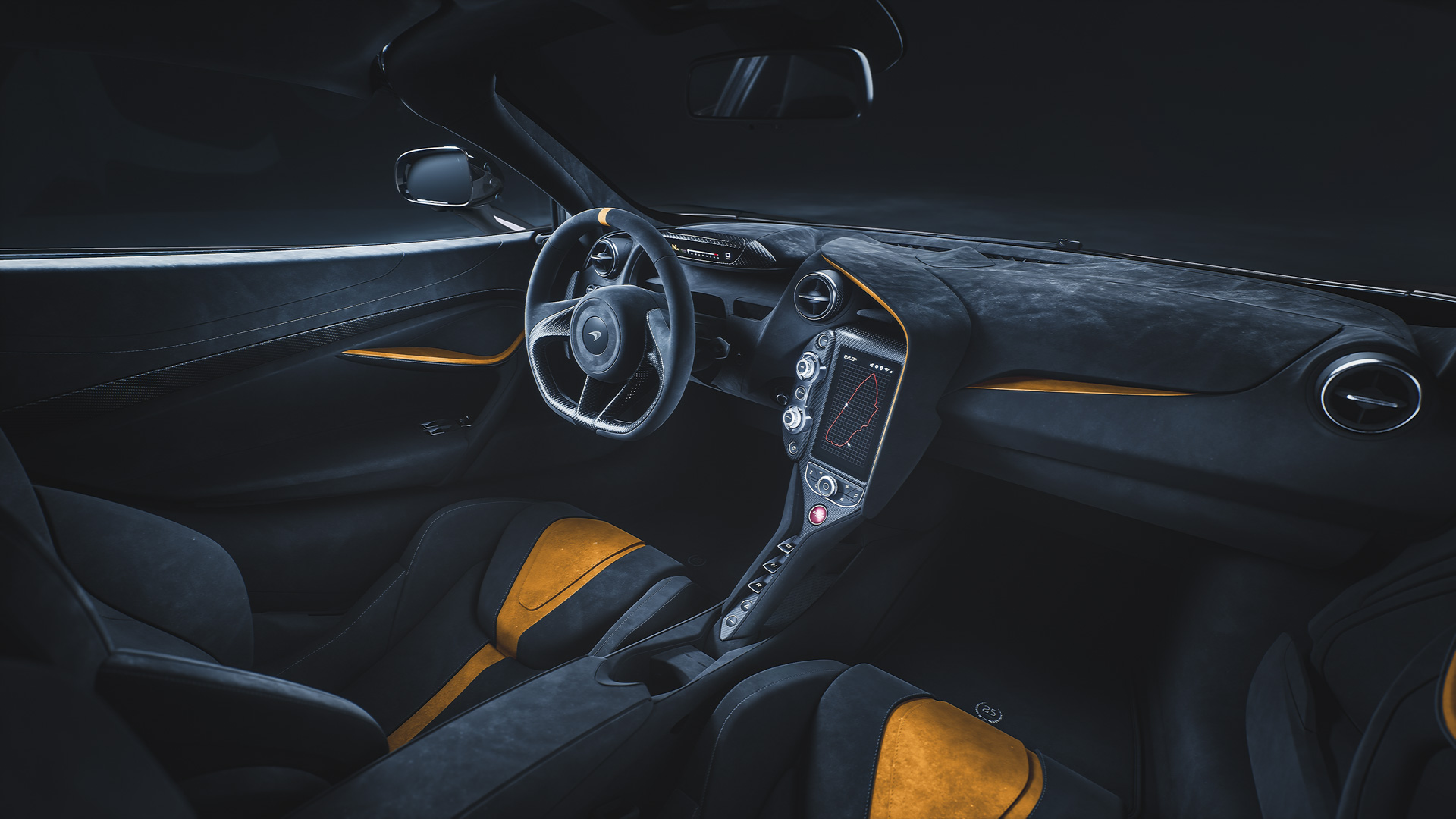 McLaren 720S Le Mans interior
