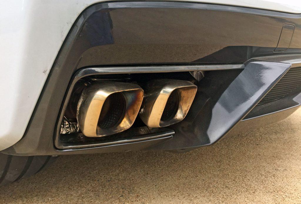 2020 Corvette exhaust