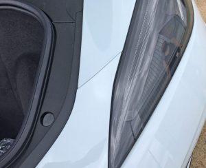 2020 Corvette frunk