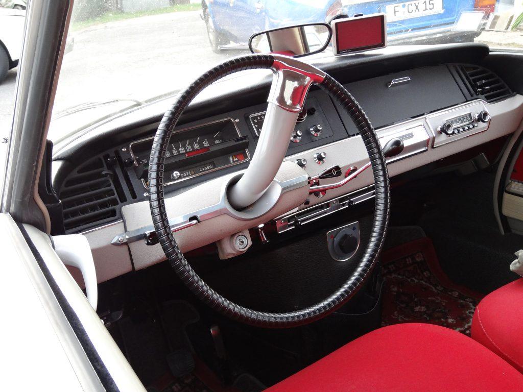 Citroen steering wheel