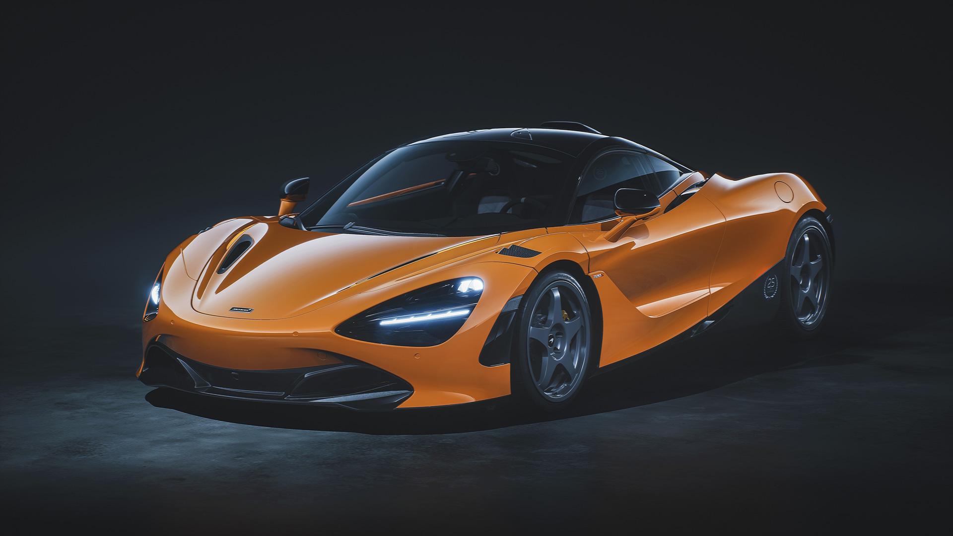 McLaren 720S Le Mans orange