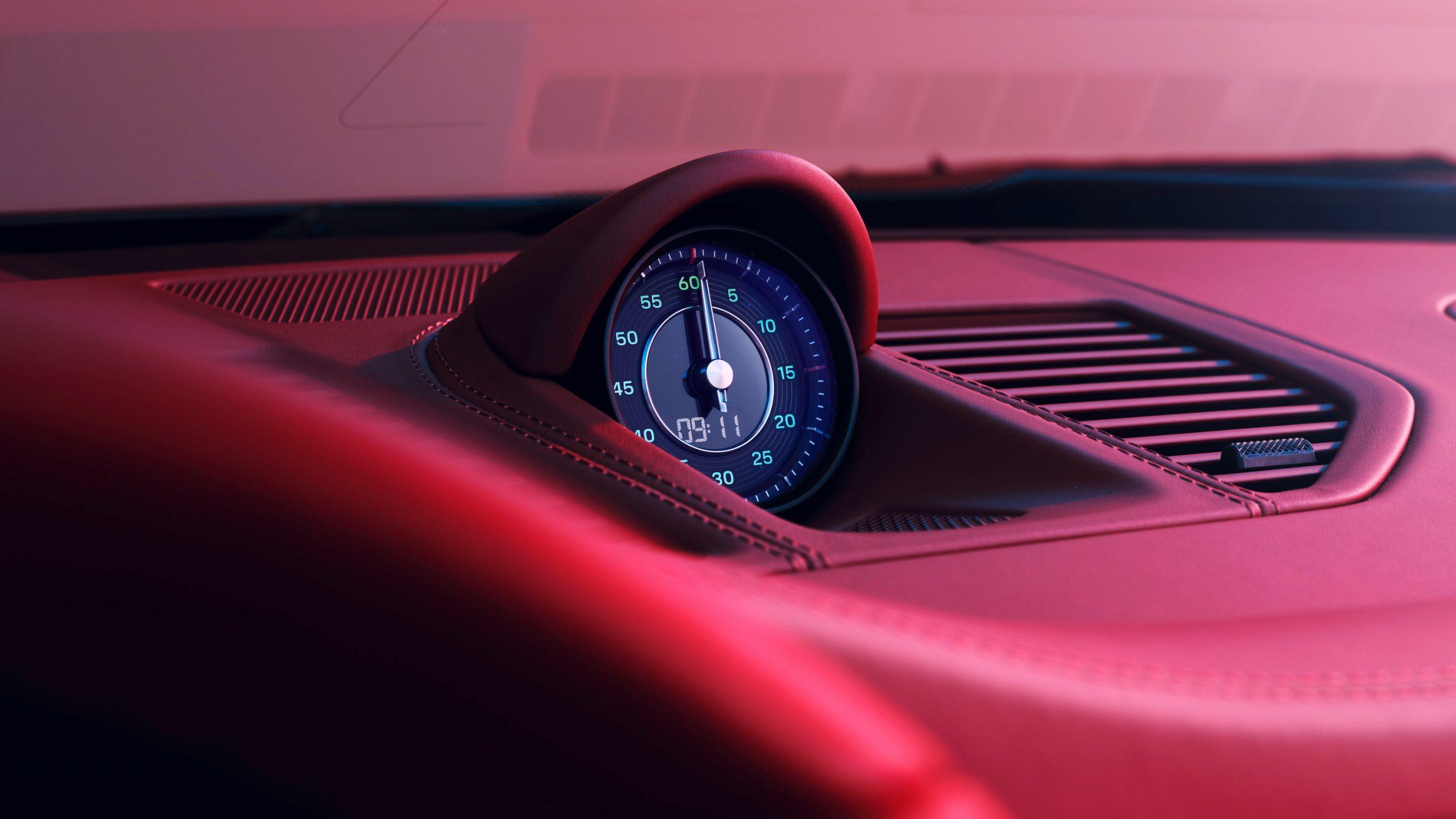 911 Targa 4S Heritage Design Clock