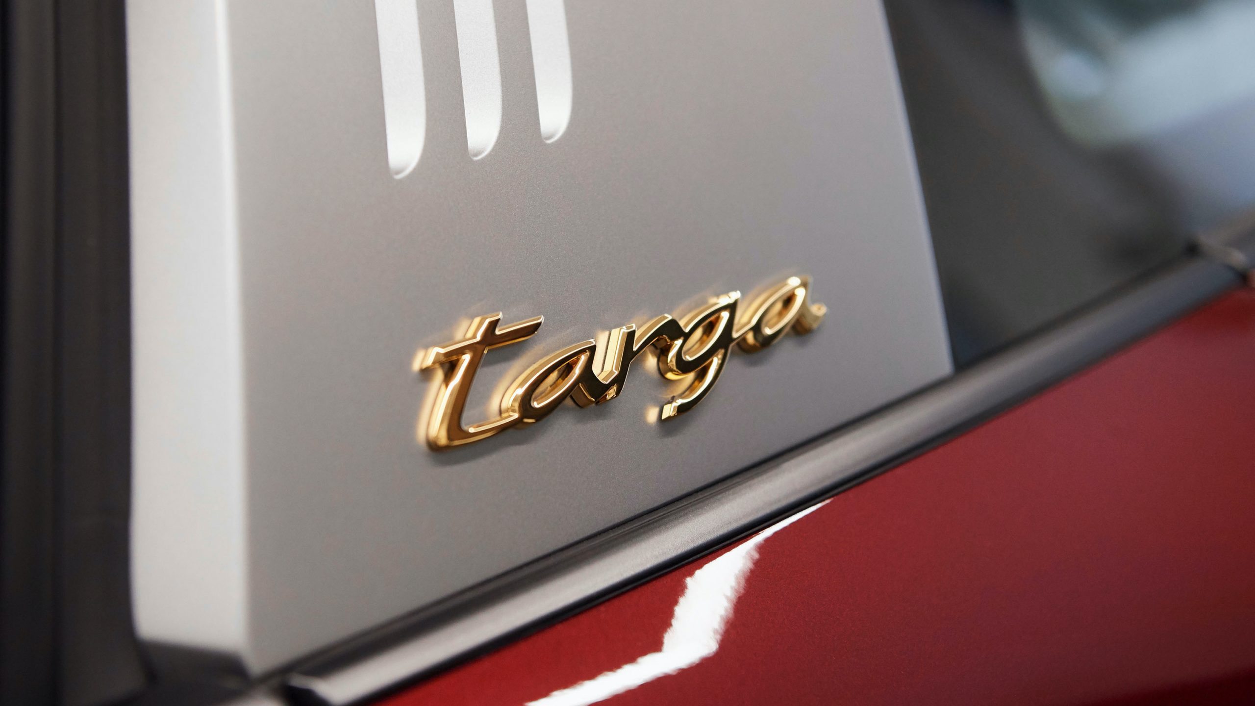 911 Targa 4S Heritage Design Edition Targa Badge