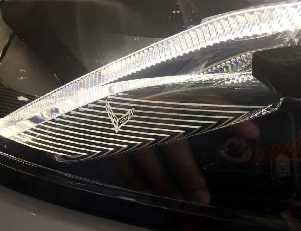 2020 Corvette headlight