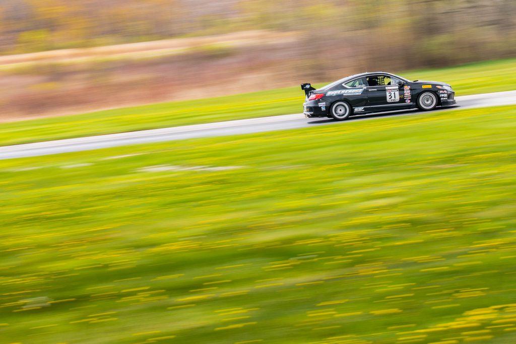 Honda Accord Far Side Profile Action Grattan Raceway