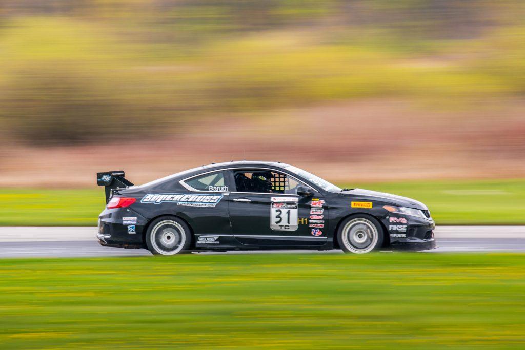Honda Accord Side Profile Action Grattan Raceway