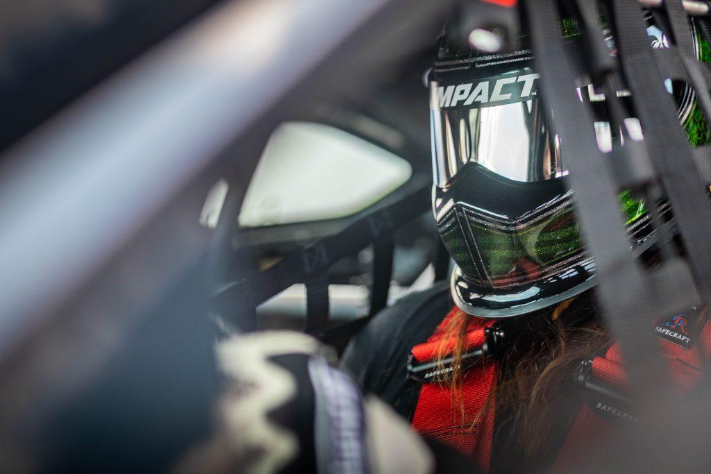 Jack Baruth Full Helmet Racing Gear Grattan Raceway