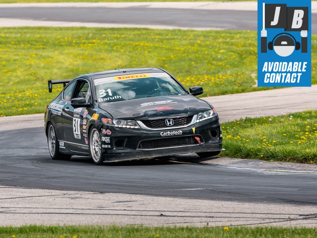 Jack Baruth Honda Accord Grattan Raceway Avoidable Contacty