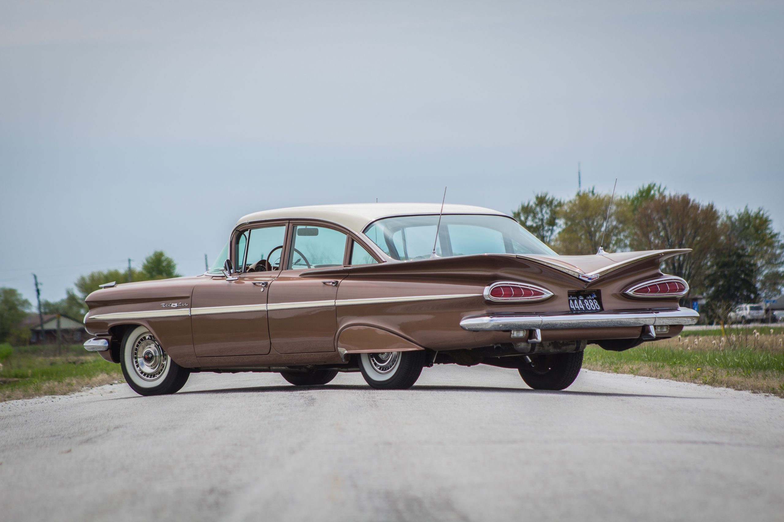 1959 Chevrolet Bel Air side