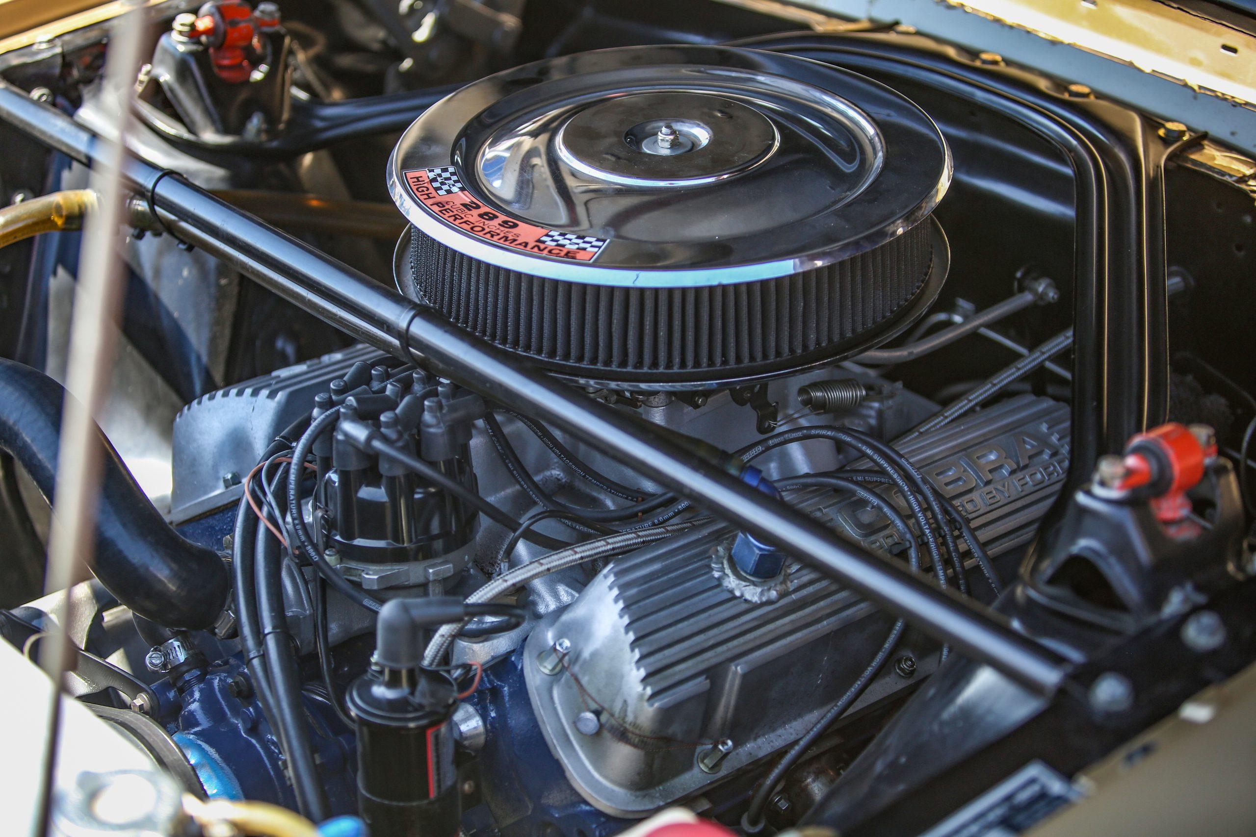 small-block Ford Cobra valve cover