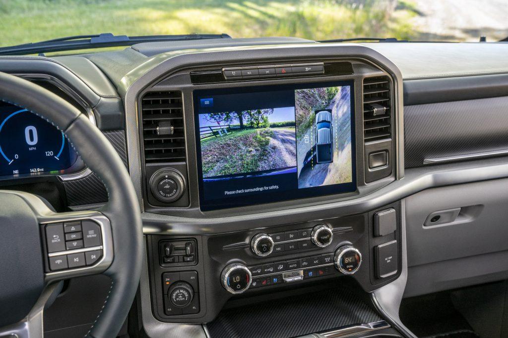 2021 Ford F-150 12-inch screen