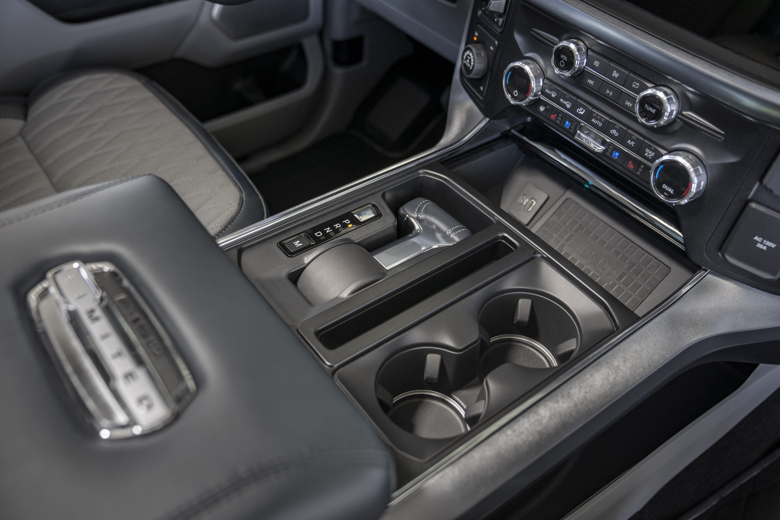 2021 Ford F-150 stowable shifter