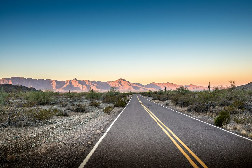 American Southwest Open Straight Road
