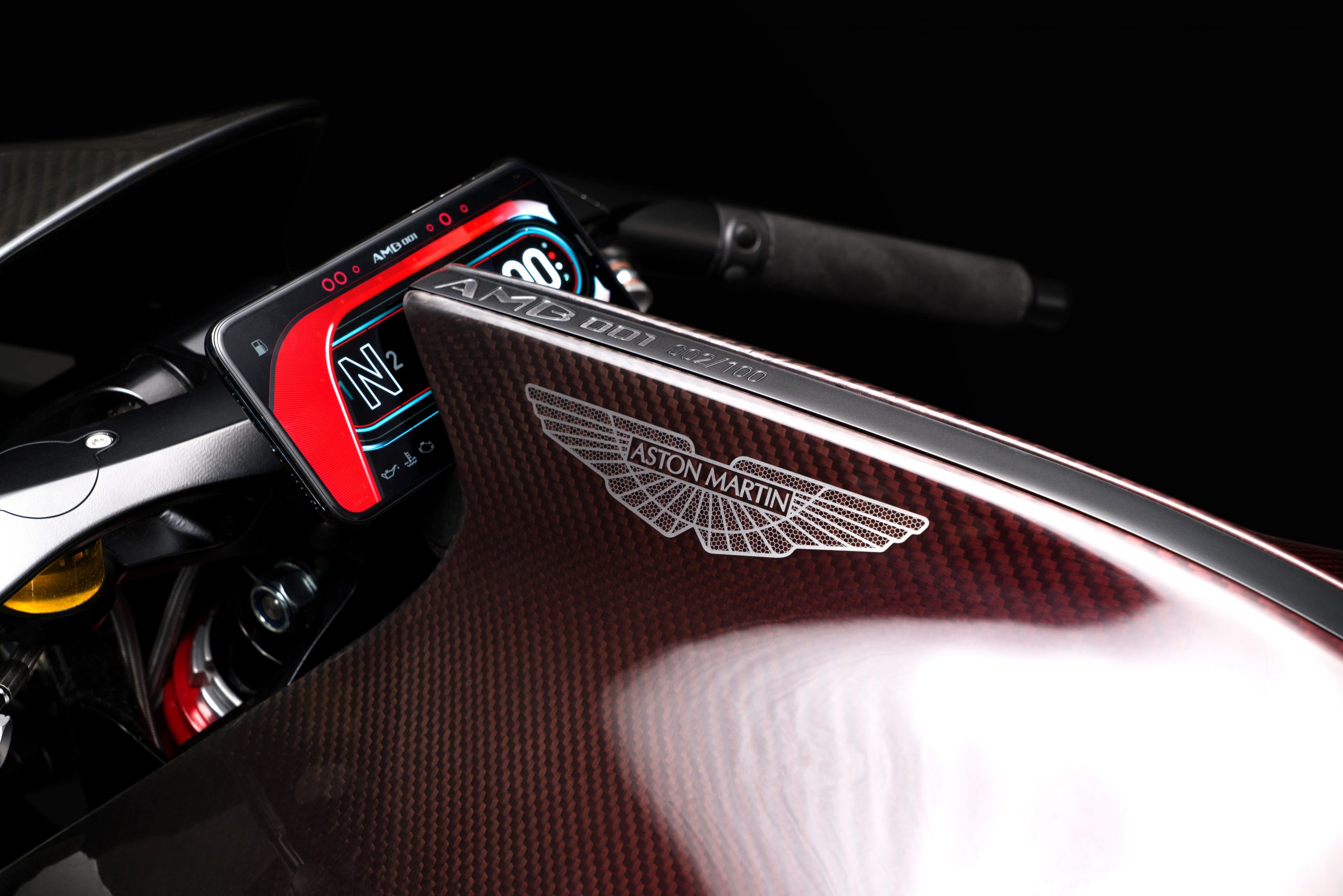 AMB001 by Aston Martin and Brough Superior detail