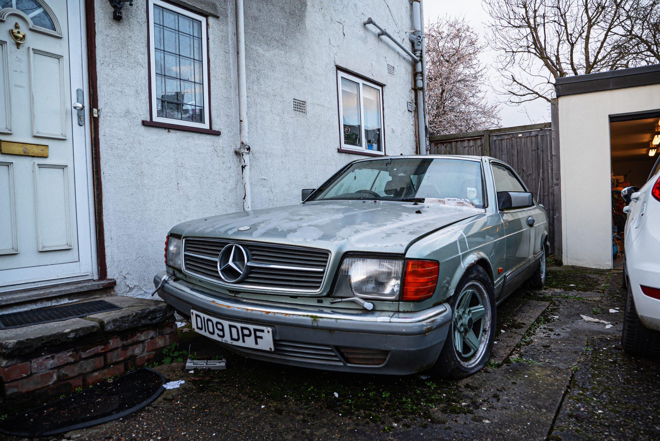 Barn Find Hunter UK - AMG Mercedes-Benz with supercharger