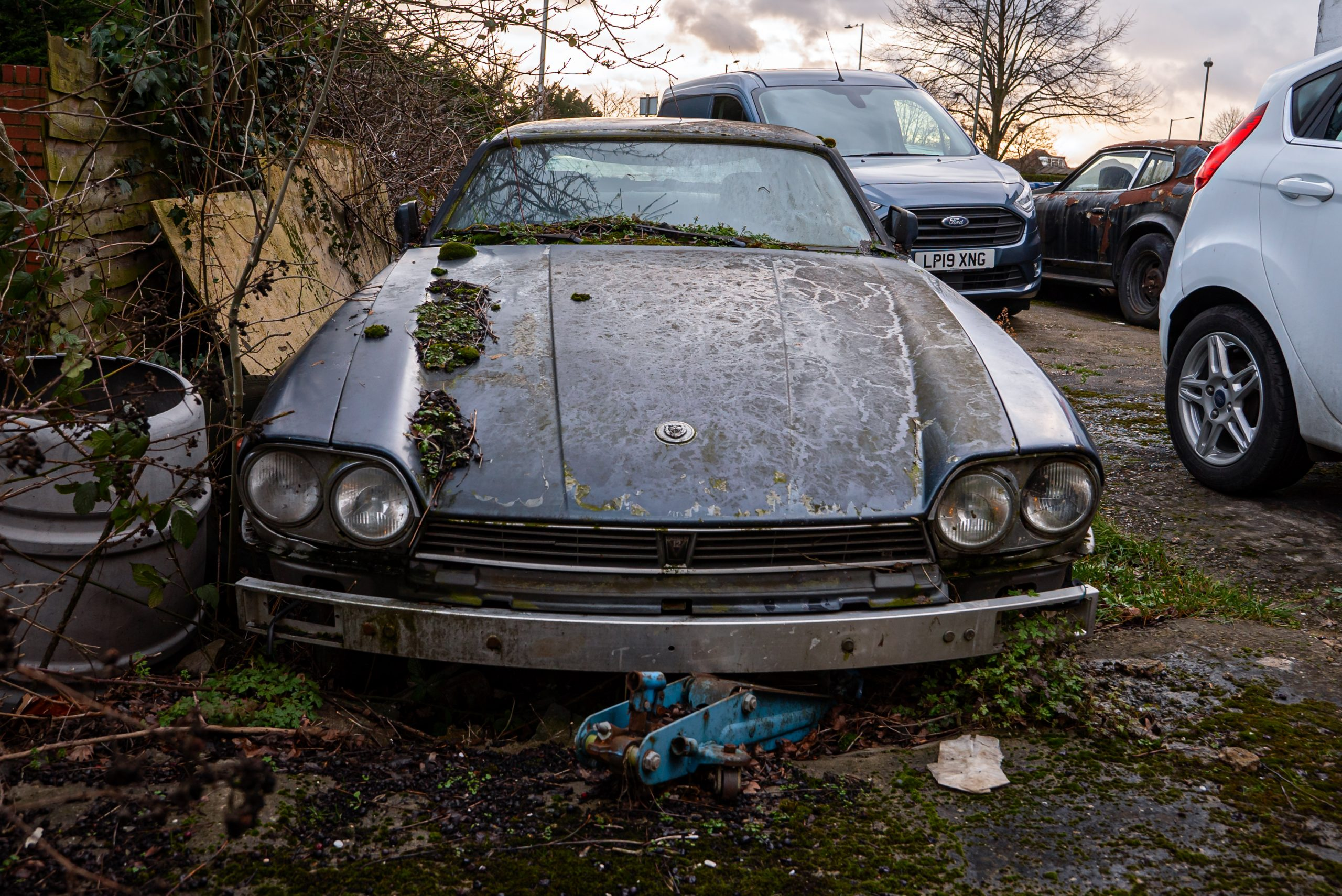 Barn Find Hunter UK - TWR Jaguar
