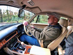 Barn Find Hunter UK - Tom Cotter driving the 1989 Jaguar