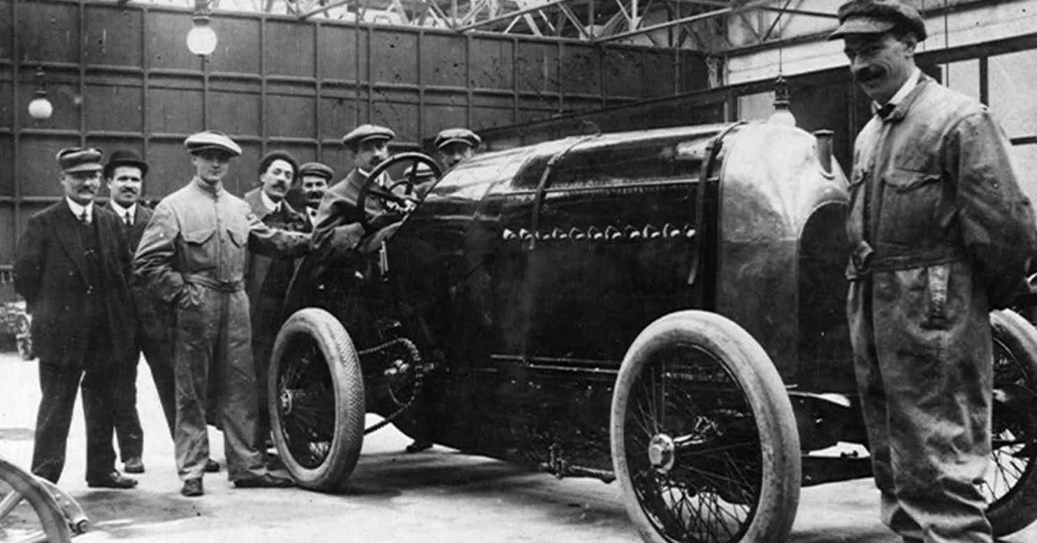 1910 Fiat S76 Beast of Turin