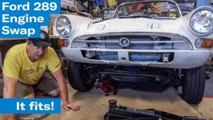 The 289 is in, but there's still a ways to go | Sunbeam Tiger engine swap project – Ep. 8