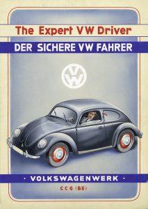British take over Volkswagen 1945 - Customer service info