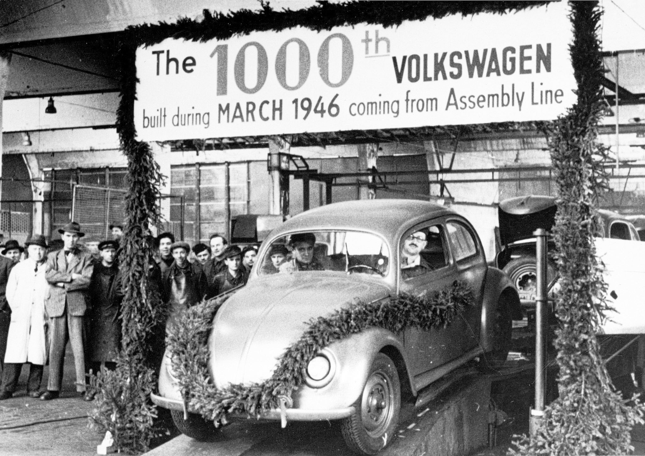 British take over Volkswagen 1945 - Production