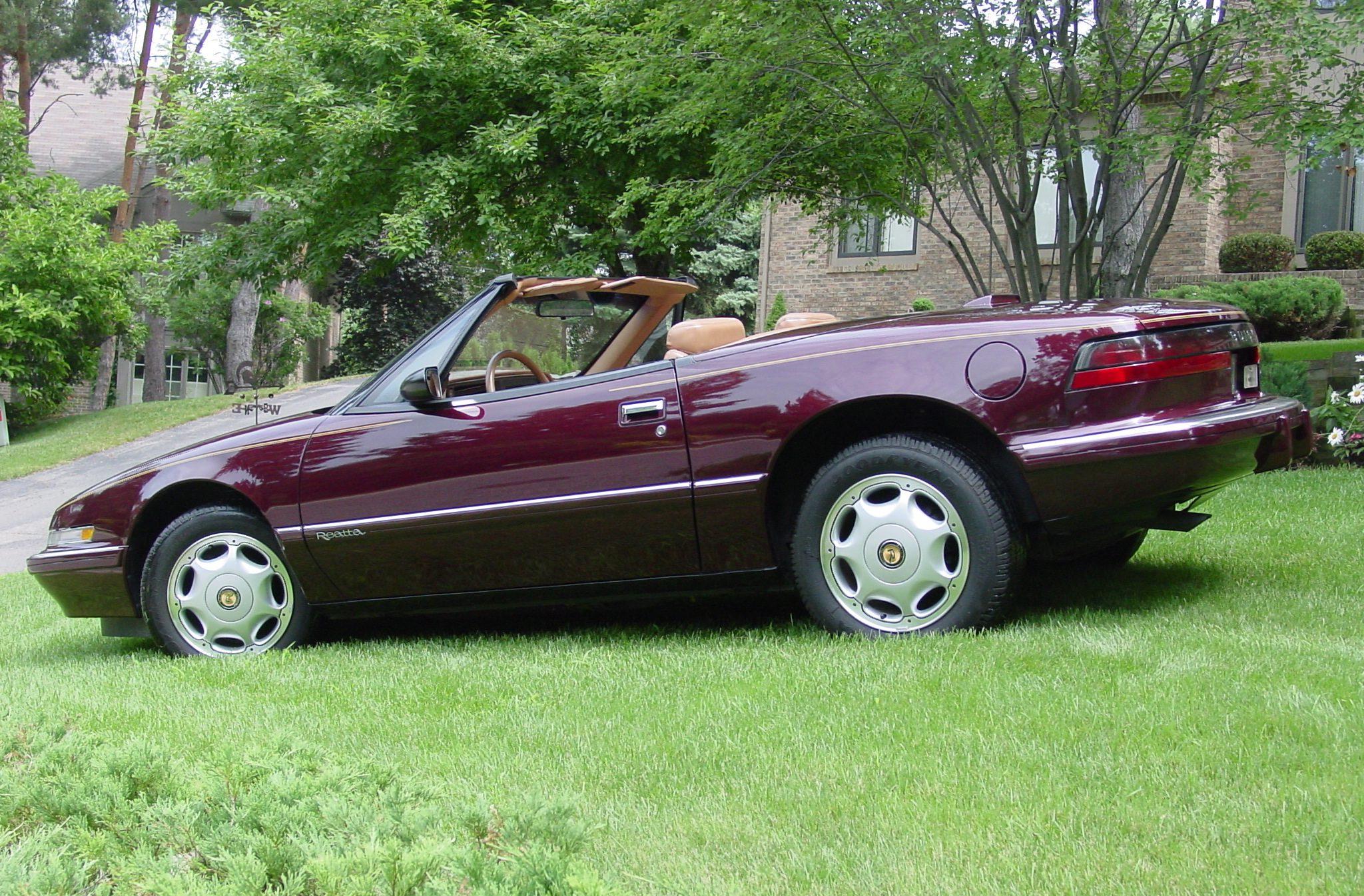 Reatta Convertible Coupe Rear Three-Quarter In Grass