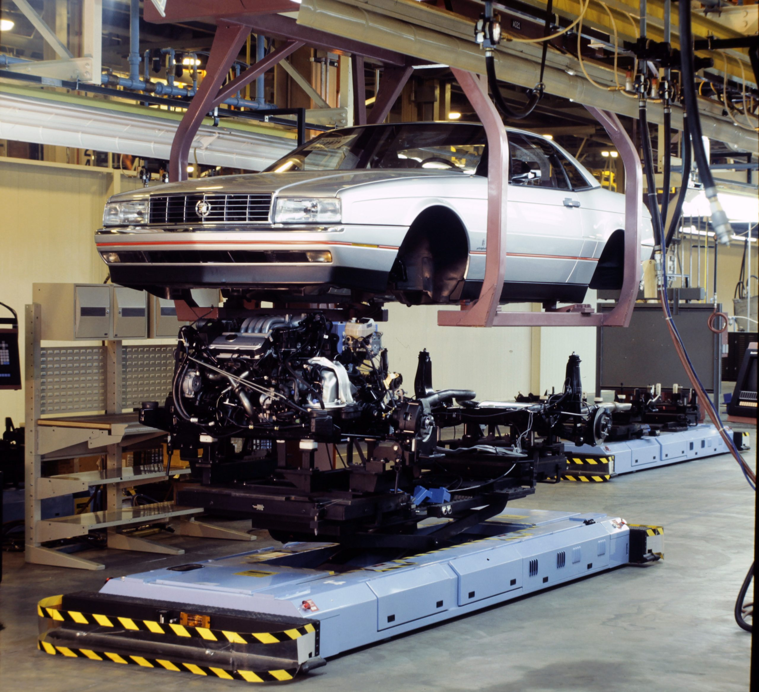 Cadillac Allante Body Over Frame Assembly