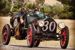 1913 Cadillac Speedster Front Three-Quarter Action