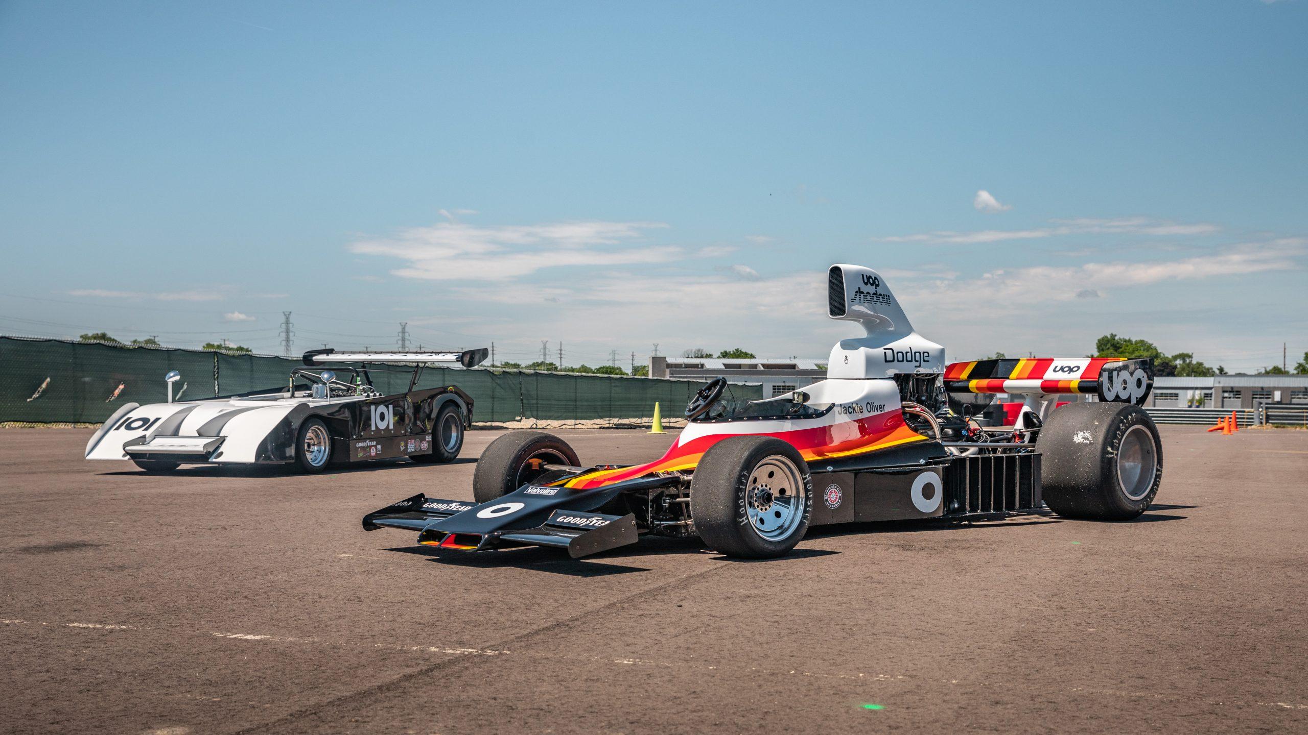 Can Am Shadow car Jim Bartel_M1 Concourse F5000 front