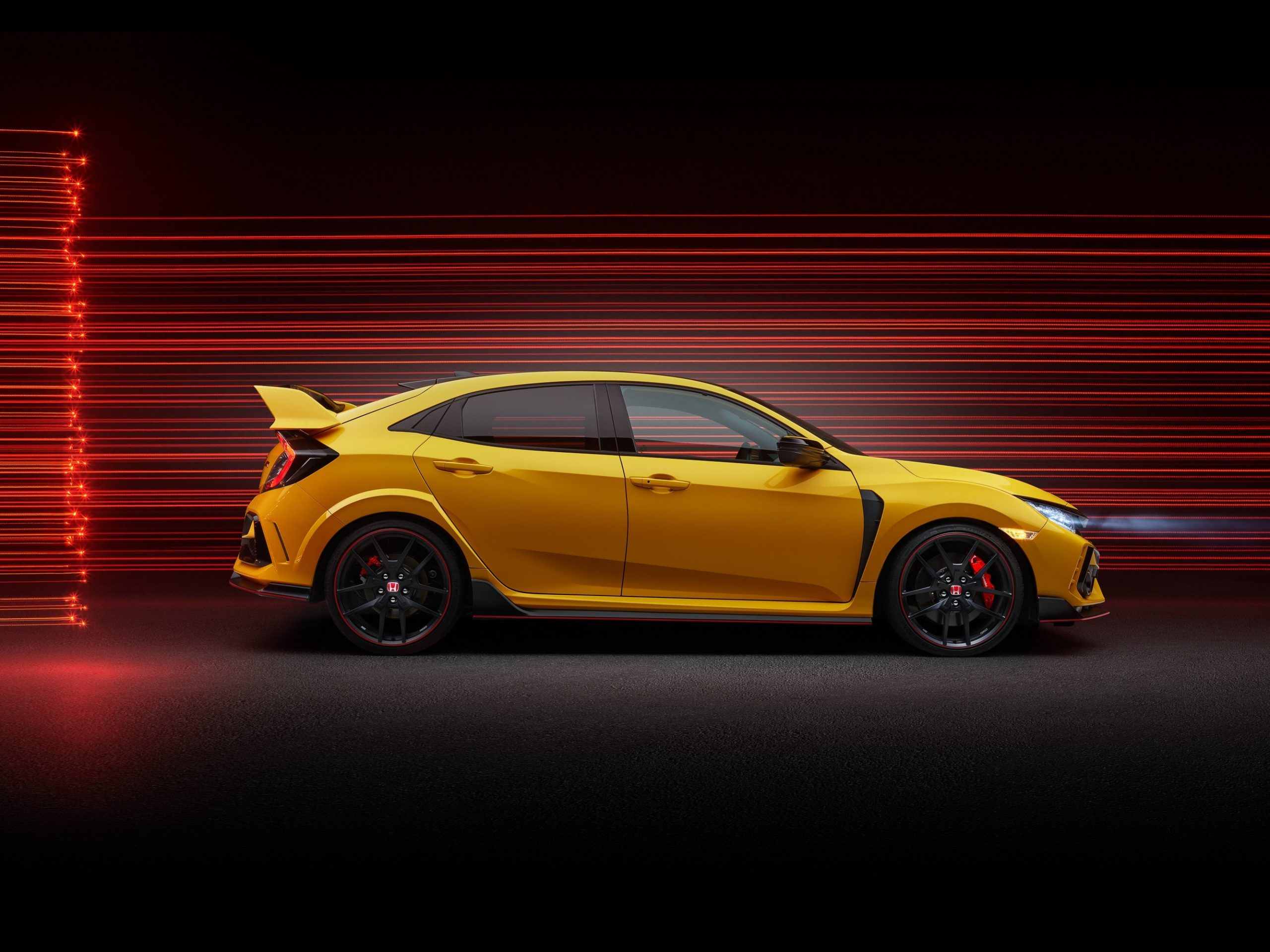 Civic Type R Limited Edition Side Profile