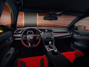 Civic Type R Limited Edition intrior
