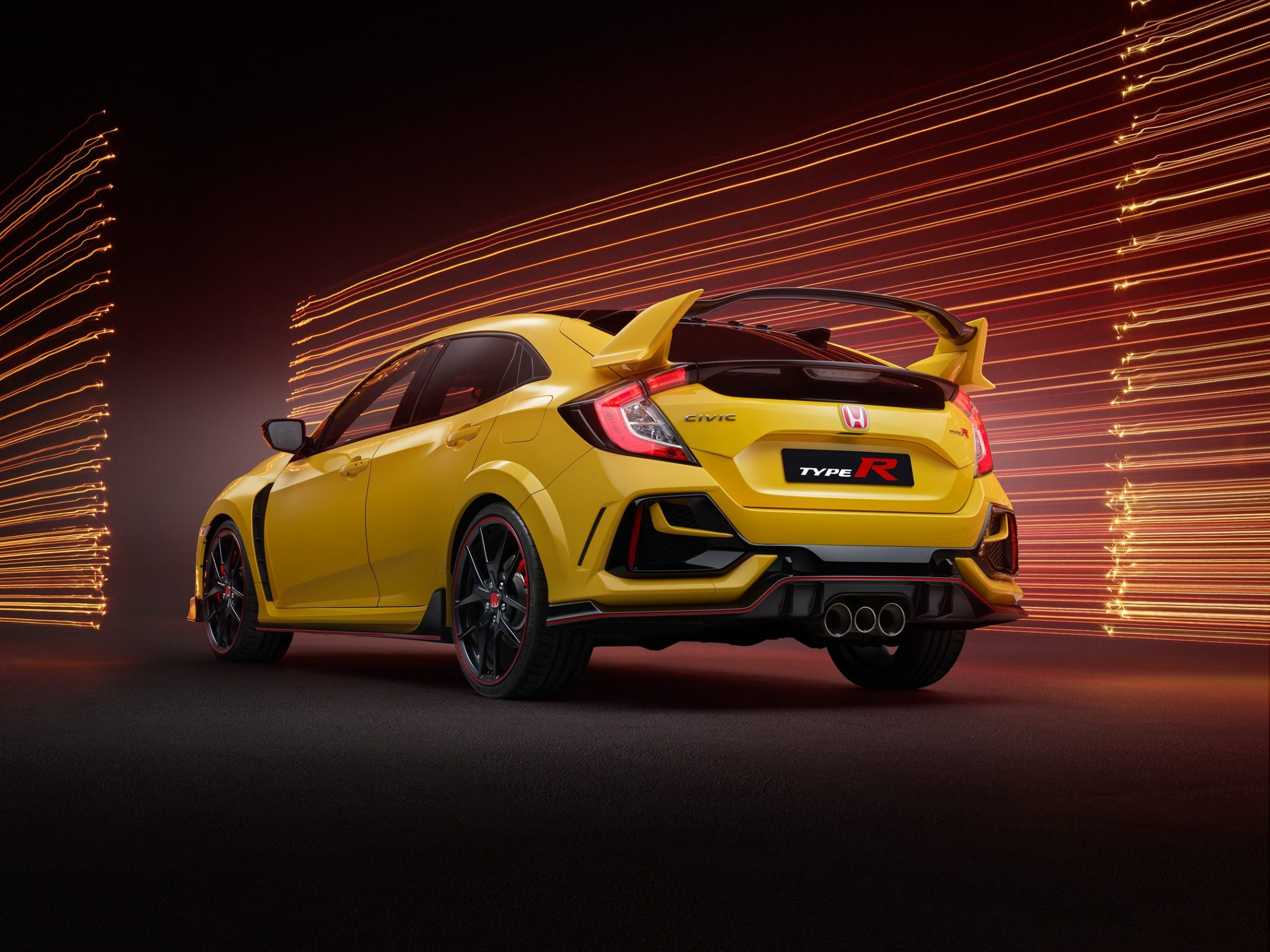 Civic Type R Limited Edition rear three quarter