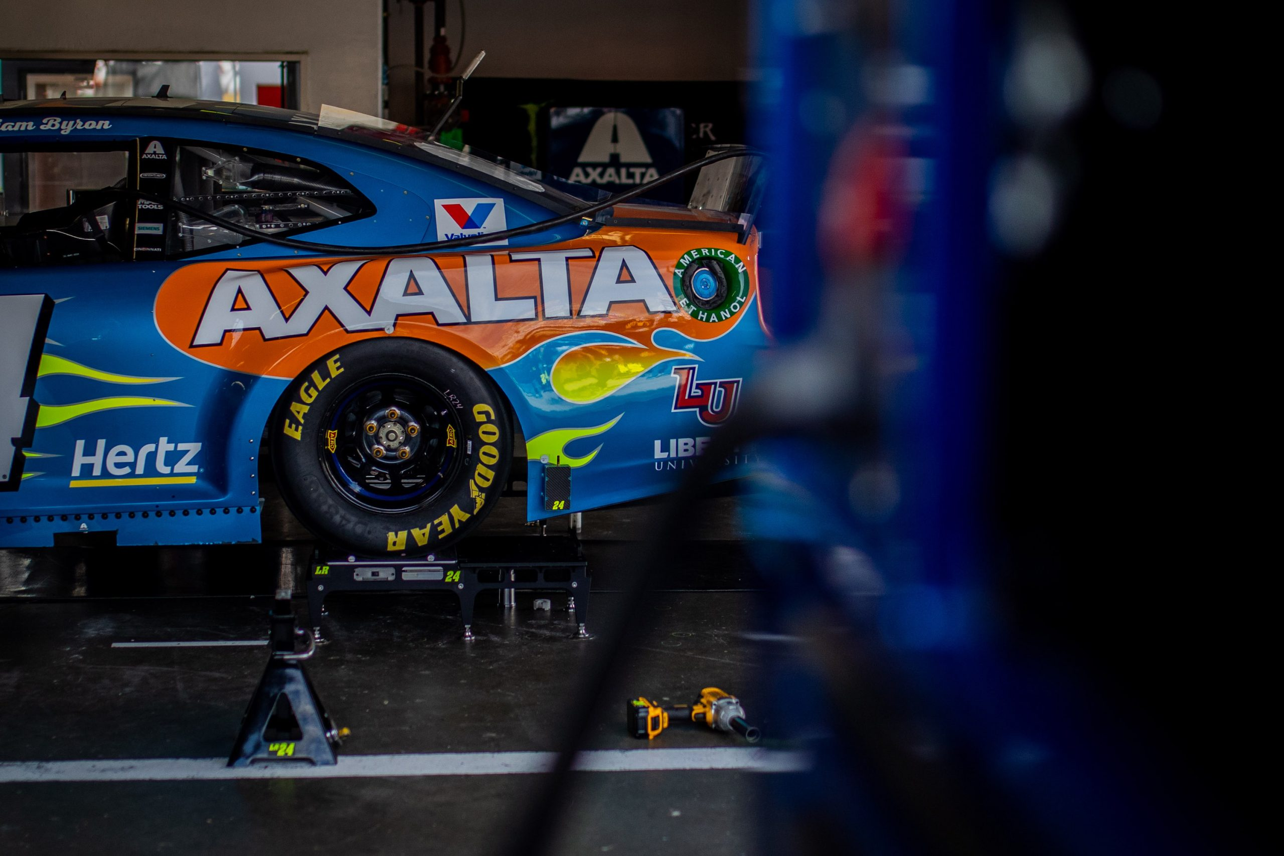 Daytona Race Car Pit