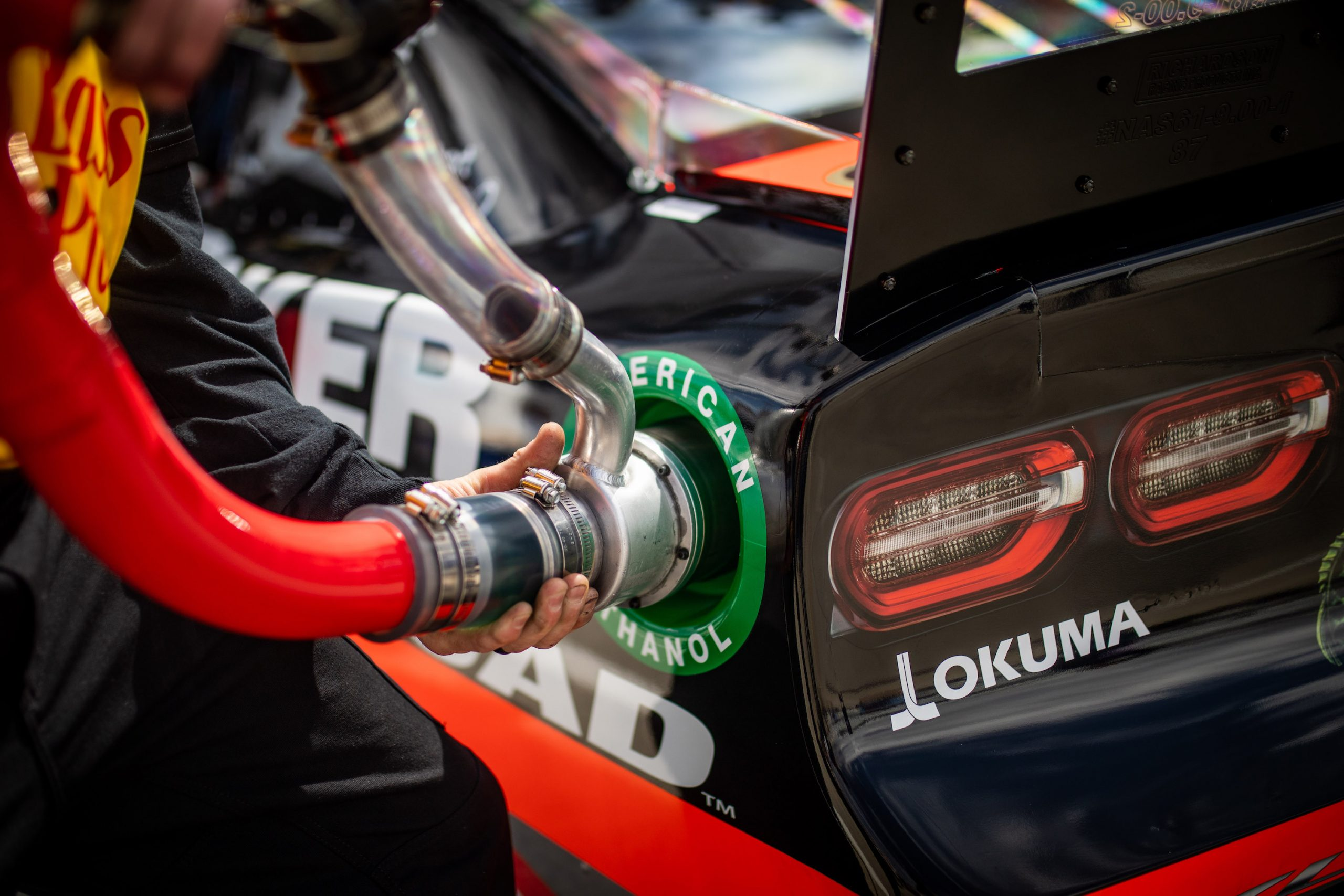 Daytona Race Car Fueling