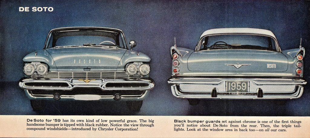 Desoto Sedan Front And Back