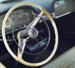 1956 Desoto Steering Wheel Clock