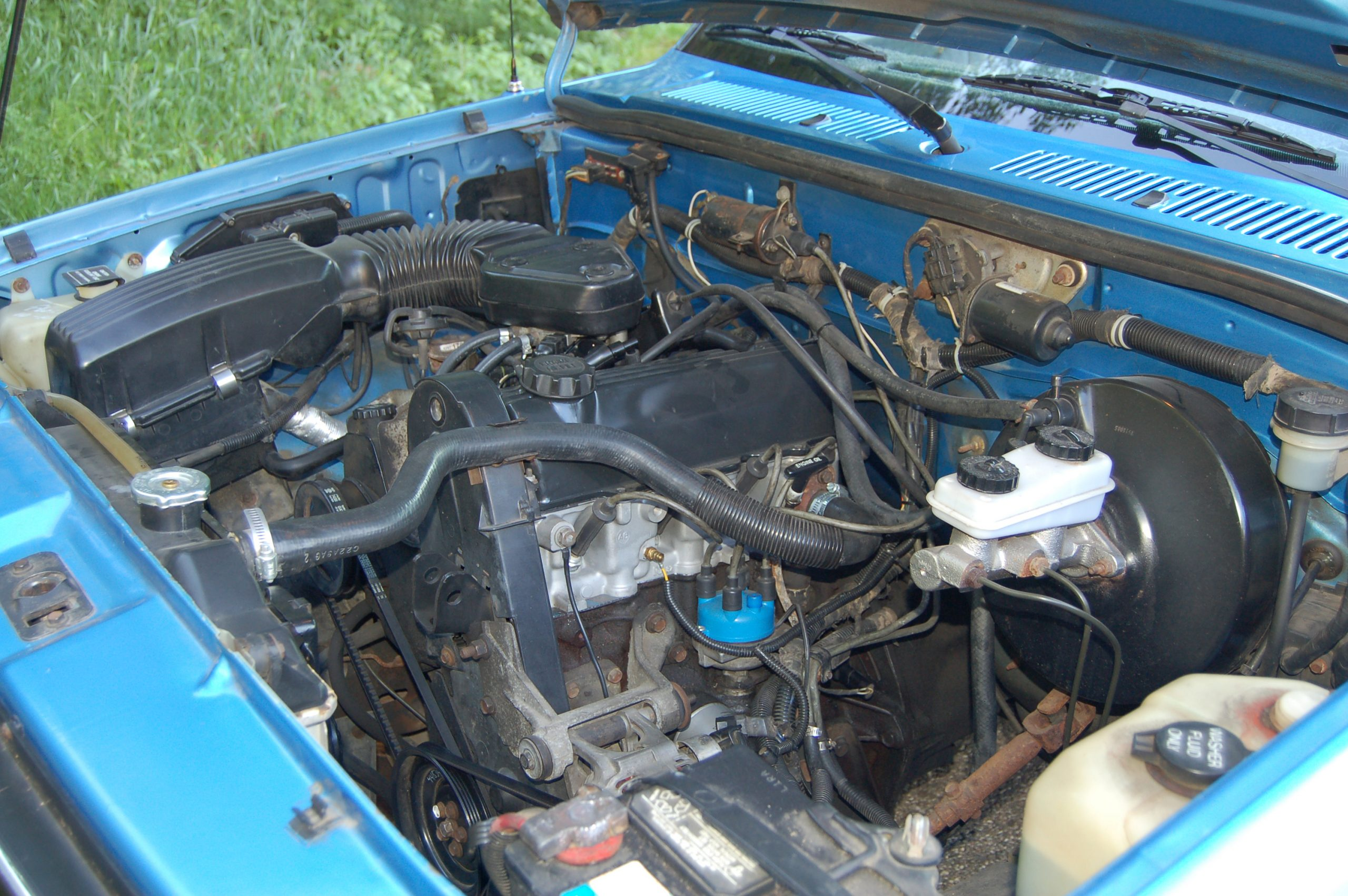 1990 Dodge Dakota Sport Convertible 4 cylinder engine