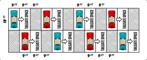 Drive-In Concert - Tailgate Zone diagram