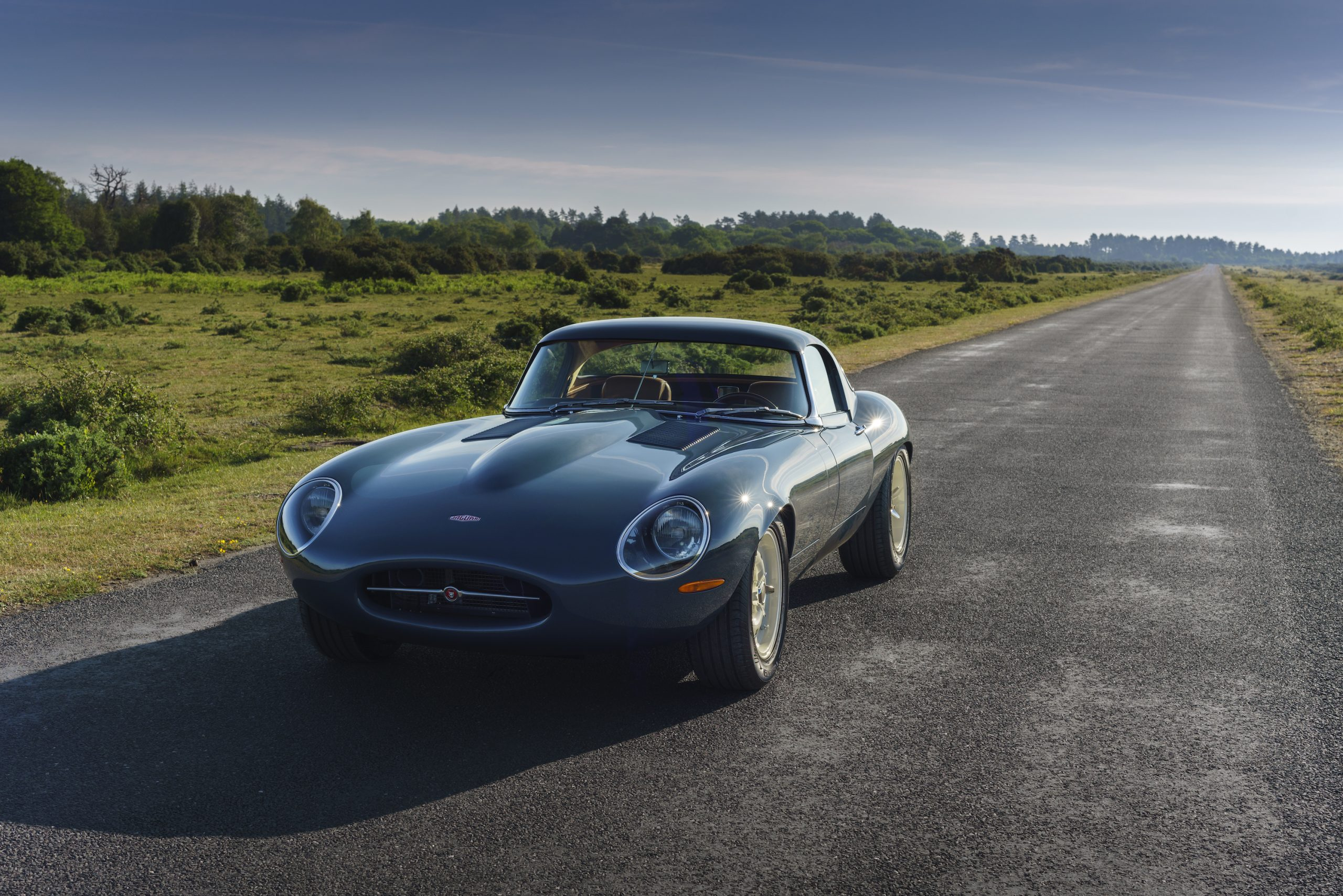 Eagle E-type Lightweight GT Front Three-Quarter