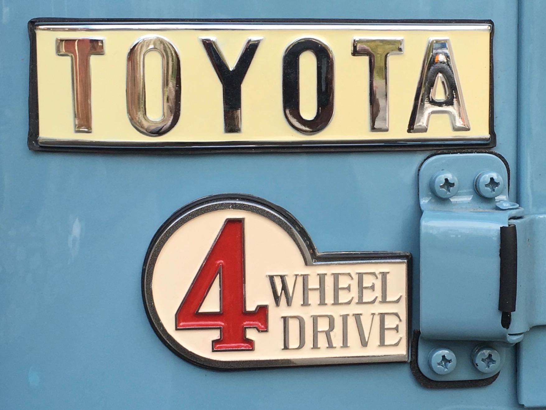 1967 Toyota Land Cruiser FJ40 after restoration