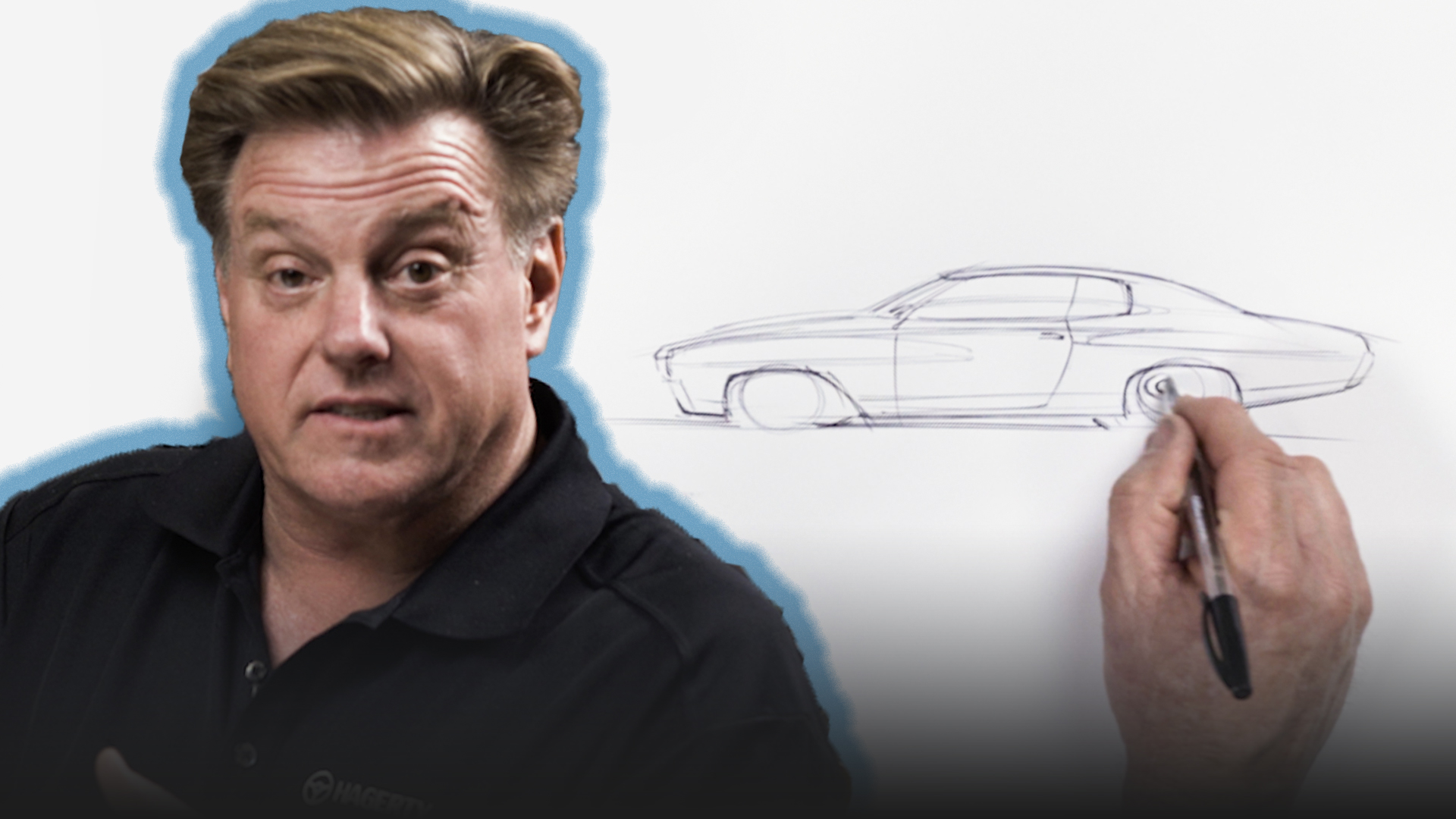 Chip Foose Draws a Car - Chevelle - Ep.7