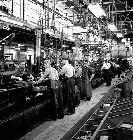 GM Oshawa Plant June 1943