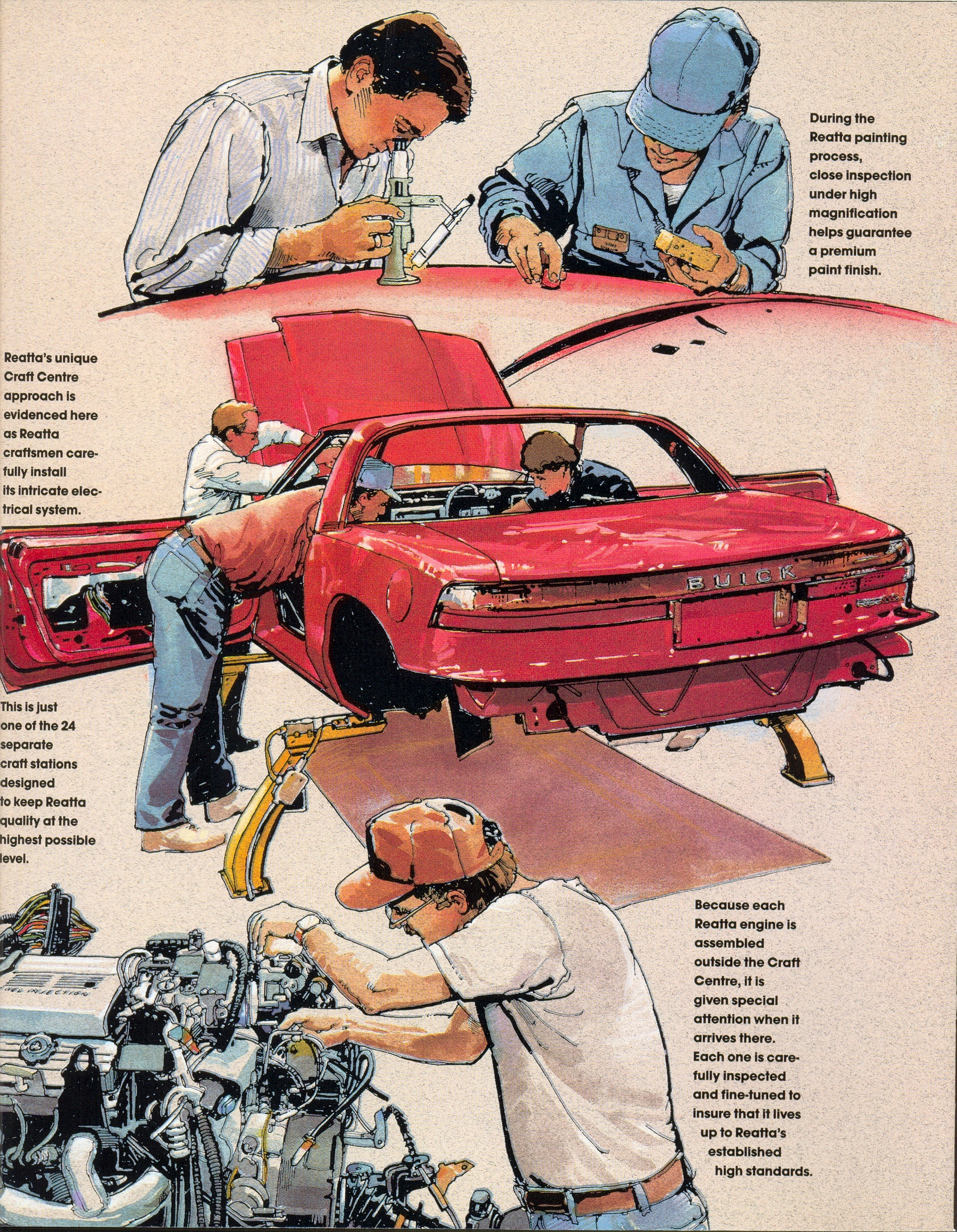 GM Reatta Final Buick Craft Center Graphic