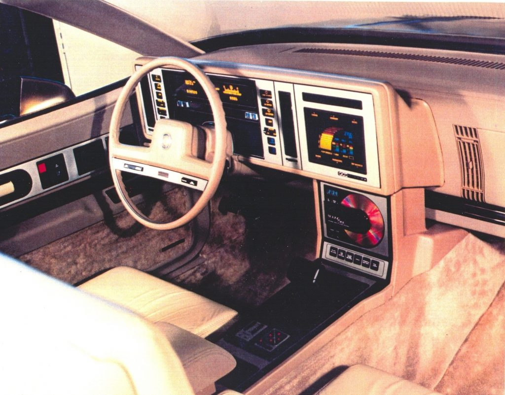 GM Interior Front For Reatta