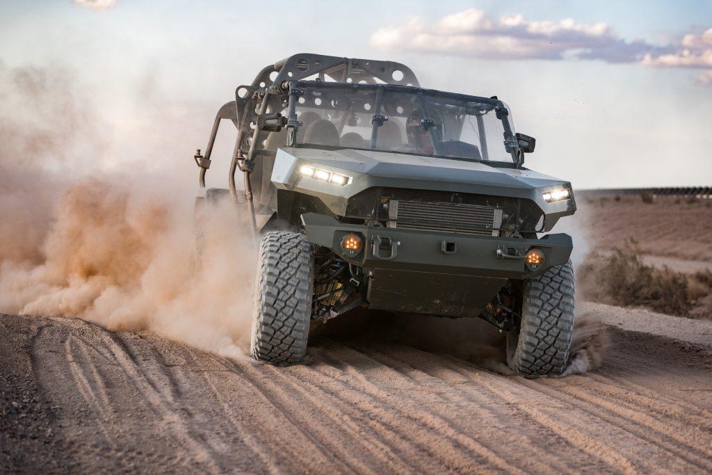 GM Defense ISV profile driving