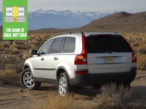 Game Is Sold Volvo XC90 Rear Three-Quarter