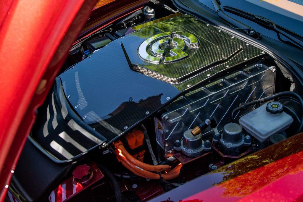 Genovation GXE C7 Corvette Engine Angle